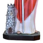 statua Santa Barbara cm 85 - base