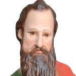 statua San Matteo cm 40 - volto