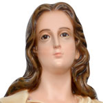 statua Santa Maria Goretti cm 85 - volto