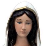 statua Madonna di Lourdes cm 50 - volto