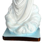 statua Madonna di Medjugorje cm 60 - base