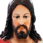 statua Sacro Cuore di Gesu cm 40 - volto