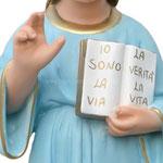statua SS nome di Gesù cm 62 -mani