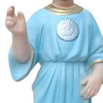 statua SS nome di Gesù cm 30 -mani
