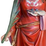 statua Santa Lucia cm 107 - mani