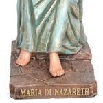 statua Maria di Nazareth cm 120 - base