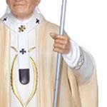 statua San Giovanni Paolo II cm 60 - mani