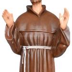 statua San Francesco d' Assisi cm. 85 - mani