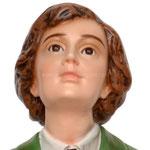 statua San Domenico Savio cm. 80 - volto