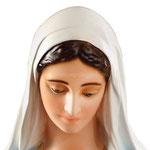 statua Madonna Miracolosa mani giunte cm 135 - volto