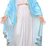 statua Madonna Miracolosa cm 160 - mani