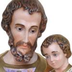 statua San Giuseppe cm. 180 - volto