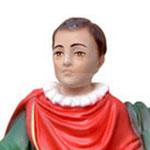 statua San Vito cm 32 -volto