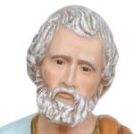 statua San Pietro cm 100 -volto