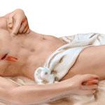 statua Gesù morto cm 50 -mani