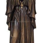 statua Santa Francesca Saverio Cabrini in legno - busto