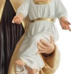 statua Madonna del Carmine cm 170 - mani