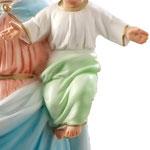 statua Maria Ausiliatrice cm 62 - mani
