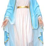 statua Madonna Miracolosa cm 120 - mani