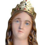 statua Santa Lucia cm 107 - volto