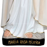 statua Rosa Mistica cm 95 - base