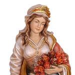 statua Santa Elisabetta in legno - volto
