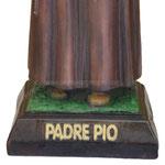 statua San Padre Pio cm 40 -base