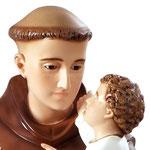 statua Sant' Antonio cm 100 - volto