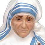 statua Madre Teresa di Calcutta cm 60 - volto