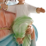 statua Maria Ausiliatrice cm 44 - Mani