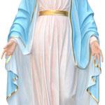 statua Madonna Miracolosa cm 180 - mani