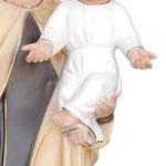 statua Madonna del Carmine cm 60 - mani
