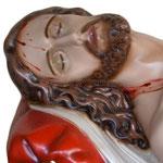 statua Gesù morto cm 115 -volto