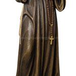 statua Santa Rita in legno - busto