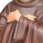statua San Francesco d' Assisi cm. 55 - mani