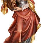 statua Santa Caterina in legno - busto