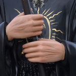 statua San Francesco di Paola cm 130 - mani