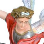 statua San Michele cm 160 - volto