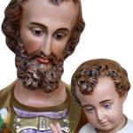 statua San Giuseppe cm. 128 - volto