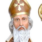 statua San Nicola cm 170 -volto