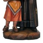 statua Santa Caterina Drexel in legno - base