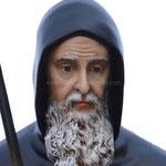 statua San Francesco di Paola cm 170 - volto