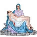 statua Madonna Pietà cm 130