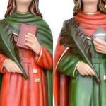 statua Santi Cosma e Damiano cm 60 - mani