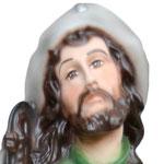 statua San Rocco cm 45 -volto