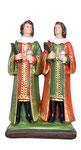 statua Santi Cosma e Damiano cm 25