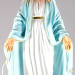 statua Madonna Miracolosa cm 35 illuminata - mani