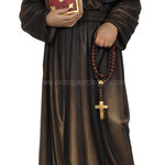 statua Santa Elisabetta Anna Seton in legno - busto