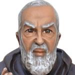 statua San Padre Pio cm 60 -volto