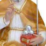 busto San Nicola cm 33 -mani